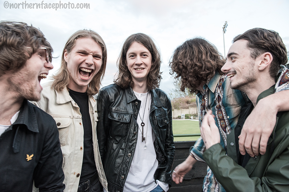 Blossoms - Interview and review Nigel Carr - Photo Dave Gleave